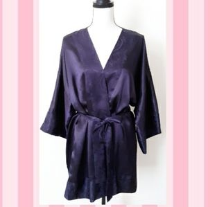 VTG Victoria's Secret Satin Robe